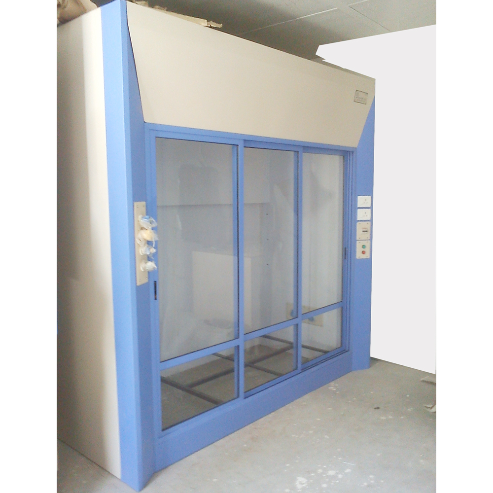walk in fume hoods